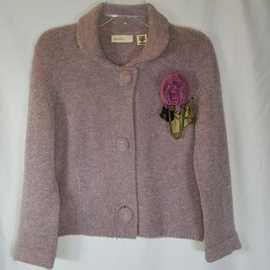 Anthropologie Sleeping On Snow Vintage cardigan